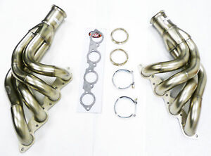 Maximizer Header For Chevy Big Block Up Forward Turbo W V band Flange