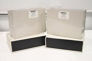Lot Of 4 Pactec Plastic Electronic Enclosure Bm 3 9 1 x6 68 75419 510 039