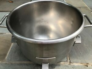 Hobart 30 Qt Stainless Steel Mixing Bowl model Vmlh 30