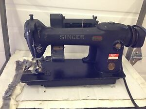 Singer 241 12 Single Needle With Mansew Ruffler Industrial Sewing Machine