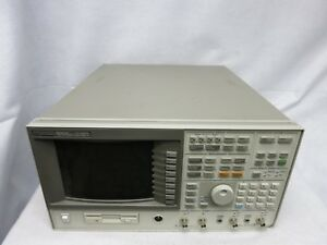Hp 89441a Dc 2650mhz Vector Signal Analyzer W Options parts repair