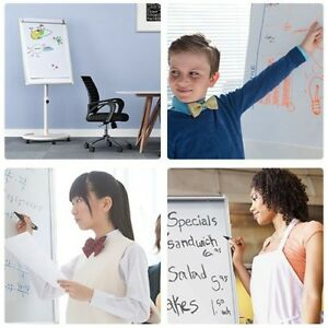 Mobile Dry Erase Board 40x28 Inches Magnetic Whiteboard Magnetic Writing Surface