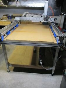 Large Cnc Router 28 X 52 Cutting Area Excellent Condition