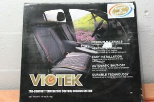 Temperature Controlled Viotek Heating Cooling Car Seat Cover Control Cushion