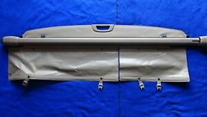 Oem 2001 2007 Toyota Sequoia Rear Area Cargo Cover Security Shade Screen Tonneau
