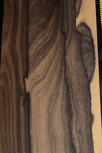 Ziricote Raw Wood Veneer 8 Sheets At 5 X 39 Inches 1 42nd E4711 37