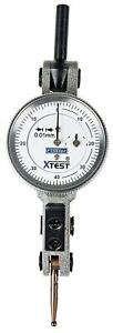 Fowler 52 562 007 0 Horizontal White Dial X test Indicator 0 01 Mm Graduation