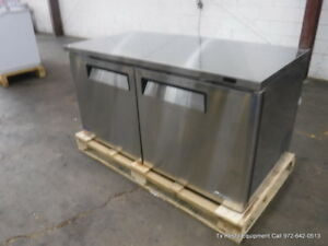 Turbo Air Muf 60 n pe 60 Under Counter Freezer 2 Doors