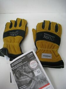 Lion Commander Structural Fire Fighting Protective Gloves Size Medium New Lpg927