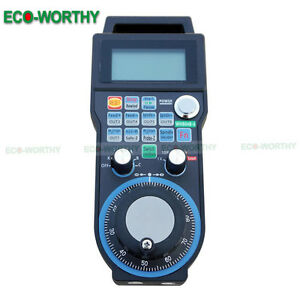 Cnc 6 Axis Usb Wireless Mpg Handwheel Controller For Cnc Lathe Mach3 Industry