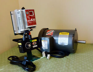 2 Hp Motor And Variable Speed Control Kit With Forward Reverse 110v Input New