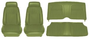 1969 Camaro Deluxe Comfortweave Interior Seat Cover Kit Oe Quality Dark Green