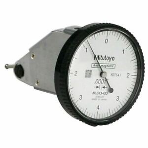 Mitutoyo 513 453 008 Travel quick Set Vertical Dial Test Indicator