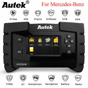 For Mercedes Benz Diagnostic Scanner Auto Abs Srs Sas Epb Oil Dpf Reset Tool