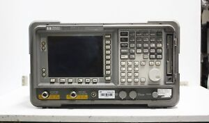 Keysight agilent hp Spectrum Analyzer E4407b With Tracking Generator