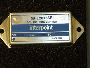 Brand New Interpoint Dc To Dc Converter Switching Regulator Module mhe2815sf