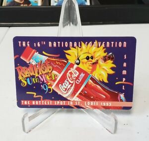 The World of Coca Cola Phone Red Hot Summer 95 16th National St. Louis SAMPLE