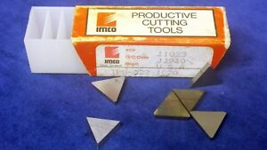 Inserts carbide Imco Tpg 322 Ic20 20 Pieces