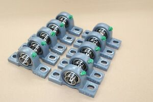 10 Pcs 1 Bore solid Base Self aligning Pillow Block Bearing 205 16 P205