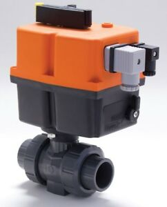 Georg Fischer Signet 2 Pvc Type 546 Ball Valve Electric Actuated