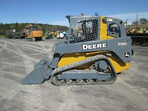John Deere 319d Farm Skid Steer Loader