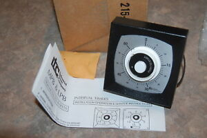 Itc Industrial Timer Company Mpb Interval Timer 60 Minute