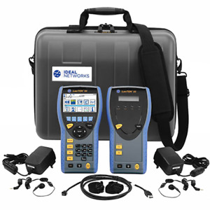 Ideal R161002 Lantek Iii 1000mhz Cable Certifier Kit without Tst Adapters