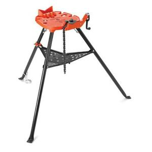 Ridgid Portable Trist Chain Vise Stand 1 8 6 Inch Universal Pipe Threading New
