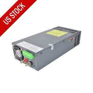 48v Dc 21a Switching Power Supply 1000w For Stepper Motor Cnc Kits
