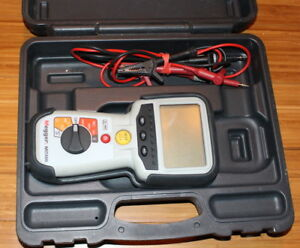 Megger Model Mit400 Insulation Continuity Tester With Case