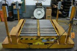 3000 Lb Ecoa Traveling Lift Table 44 X 48 Plaform W rollers 55 R 22458