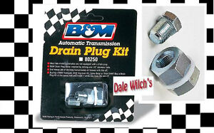 New B M Automatic Transmission Oil Pan Handy To Have And Use Drain Plug Kit