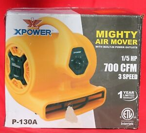 X Power Mighty Air Mover 1 5 Hp P 130a