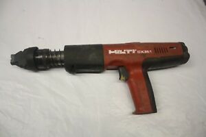 Hilti Dx 351 Powder Actuated Nail Gun Free Shipping