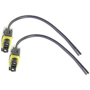 New Speed Sensor Harnesses Set Of 2 Rear For Chevy Citation Express Van Pair