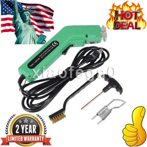 100w Hot Heating Knife Cutter Sponge Rope Leather Pipes Fabric Cutting Tool Usa