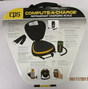 Cps compute a charge 110 Lb Refrigerant Charging Scale Ccd110
