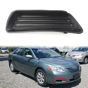 Front Bumper Fog Light Cover W O Fog Right Side For 07 2008 2009 Toyota Camry Ue