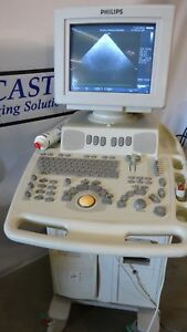 Philips Envisor C Hd M2540a Ultrasound 21369a Tee And Pa 4 2 Probes Included