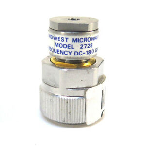 Midwest Microwave Model 2728 Frequency Dc 18 Ghz
