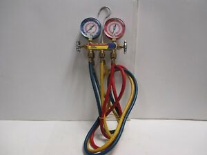 Yellow Jacket Manifold Gauges And Hoses R 410a R 22
