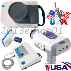 Portable Dental X Ray Mobile Film Imaging Machine Digital Low Dose System 3 Type