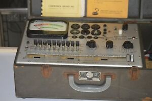 Vintage Precision 660 Tube Transistor Tester Tested