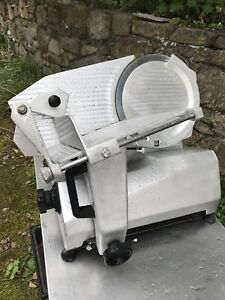 Univex Meat Slicer With 12 Inch Blade And Sharpening truing Mechanism