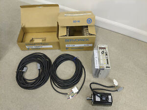 New Yaskawa Sgdh 02be Servo Motor Sgmah 02baf41 Servo Drive And 10m Cables