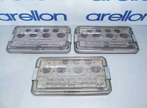 Lot Of 3 Sets Medtronic Cg Future Annuloplasty Systems Sizer Sets 24 38 Mm