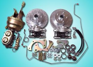 1965 1968 Chevrolet Impala Power Front Disc Brake Conversion And Tubular A Arms