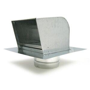 Fantech Rc6 Galvanized Steel Roof Cap For 6 Duct