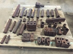 One Lot Of Tooling For Vtl Boring Mill 29300