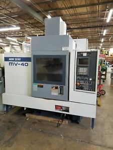 Mori Seiki Mv 40b W Fanuc Cnc Vertical Machining Center